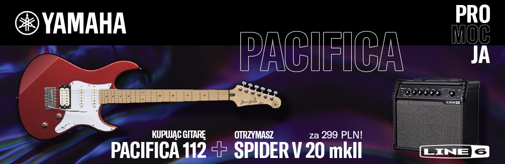 Pacifica 112 + Spider V 20