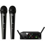 AKG WMS40 MINI Dual Vocal - ISM2/3 (864.375 MHz - 864.850 MHz)