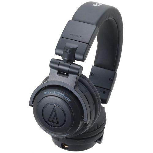 Audio Technica ATH-PRO500MK2BK - słuchawki DJ  ▶▶▶ do 40 rat 0% na wszystko ◀◀◀ ♡❤