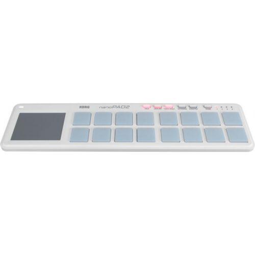 Korg nanoPAD 2 White - kontroler DJ