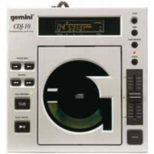 Gemini CDJ-10E - Wyprzedaż! -60% - odtwarzacz CD  - Masz pytania? Dzwoń ☞  ☎ 503 37 00 00 ☎ ☜