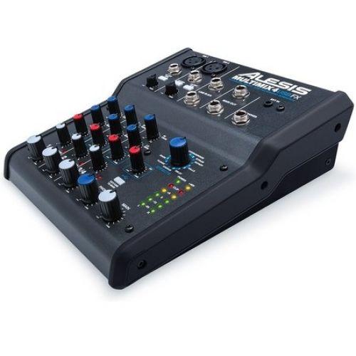 Alesis MultiMix 4 USB FX - mikser analogowy  - Masz pytania? Dzwoń ☞  ☎ 503 37 00 00 ☎ ☜