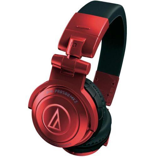 Audio Technica ATH-PRO500MK2RD - słuchawki DJ  ▶▶▶ do 40 rat 0% na wszystko ◀◀◀ ♡❤