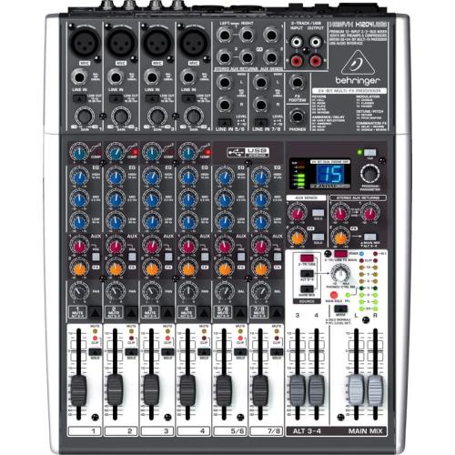 Behringer XENYX X1204 USB  - mikser audio z procesorem efektów i USB