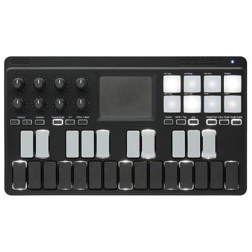 Korg nanoKEY Studio - kontroler DJ  - Masz pytania? Dzwoń ☞  ☎ 503 37 00 00 ☎ ☜