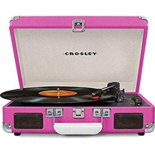 Crosley - CR8005D Cruiser Deluxe Pink