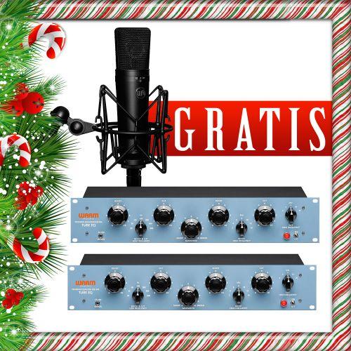 2 x Warm Audio EQP-WA + gratisy promocja świąteczna