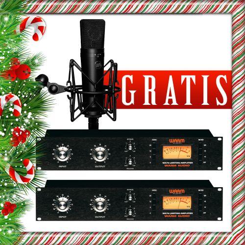 2x Warm Audio WA76 + gratisy promocja świąteczna