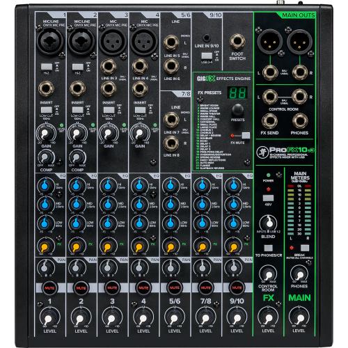MACKIE PROFX 10v3   - mikser analogowy