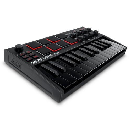 Akai MPK Mini MKIII Black ultrakompaktowa klawiatura sterująca